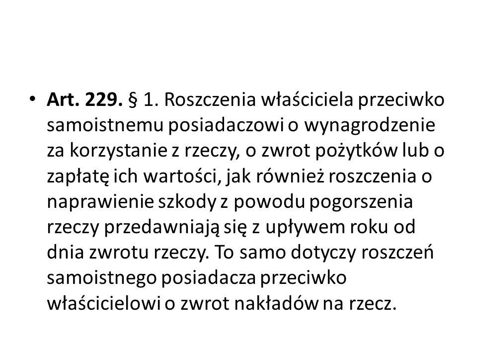 Art.229. § 1.