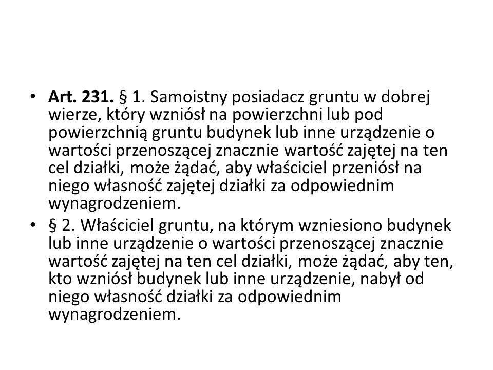 Art.231. § 1.