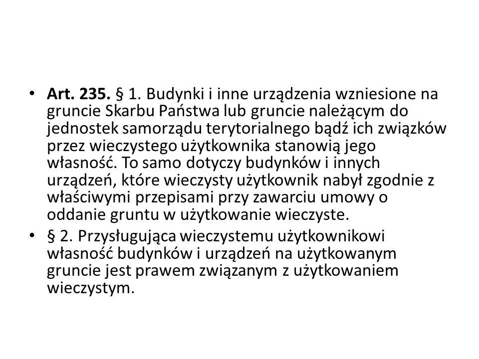 Art.235. § 1.