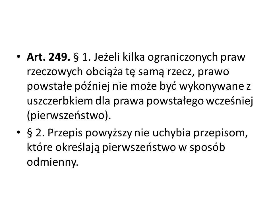 Art.249. § 1.