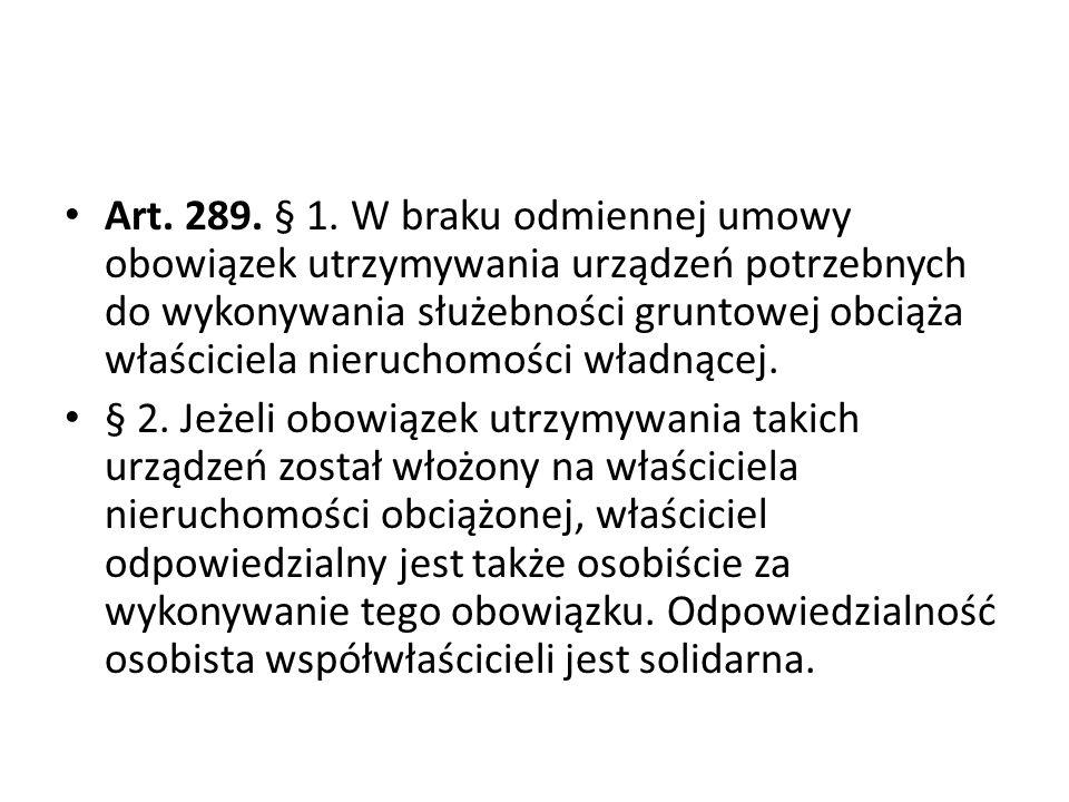 Art.289. § 1.