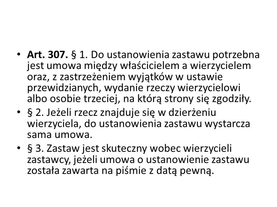 Art.307. § 1.