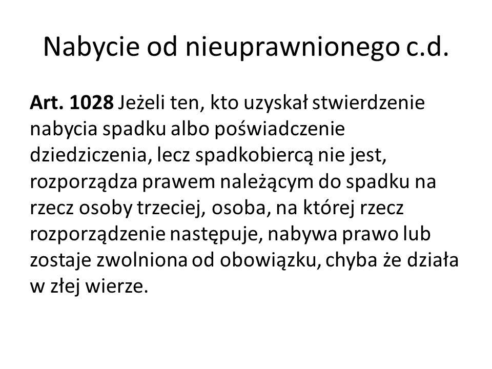 Użytkowanie wieczyste Art.232. § 1.