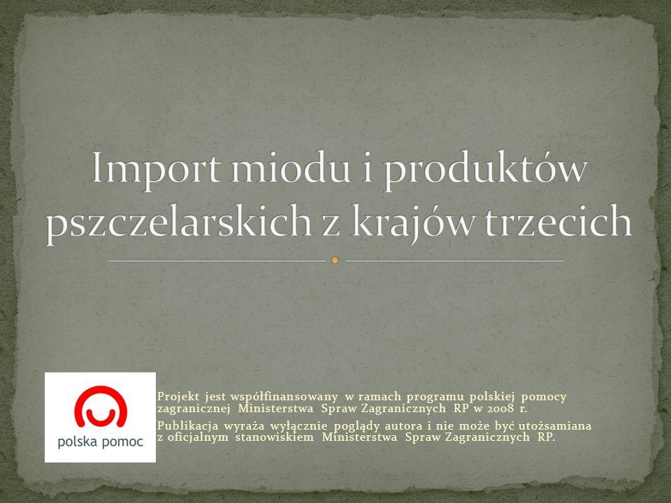 Projekt jest współfinansowany w ramach programu polskiej pomocy zagranicznej Ministerstwa Spraw Zagranicznych RP w 2008 r. Publikacja wyraża wyłącznie