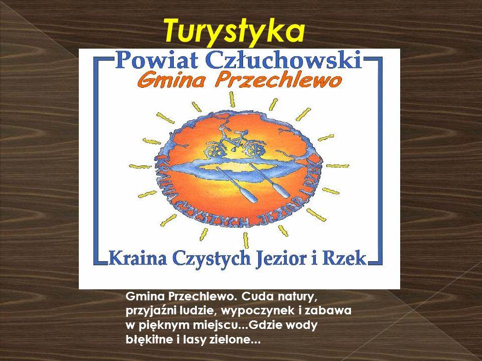 Turystyka Gmina Przechlewo. Cuda natury, przyjaźni ludzie, wypoczynek i zabawa w pięknym miejscu...Gdzie wody błękitne i lasy zielone...