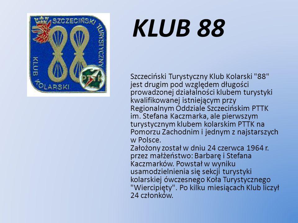 KLUB 88 Szczeciński Turystyczny Klub Kolarski