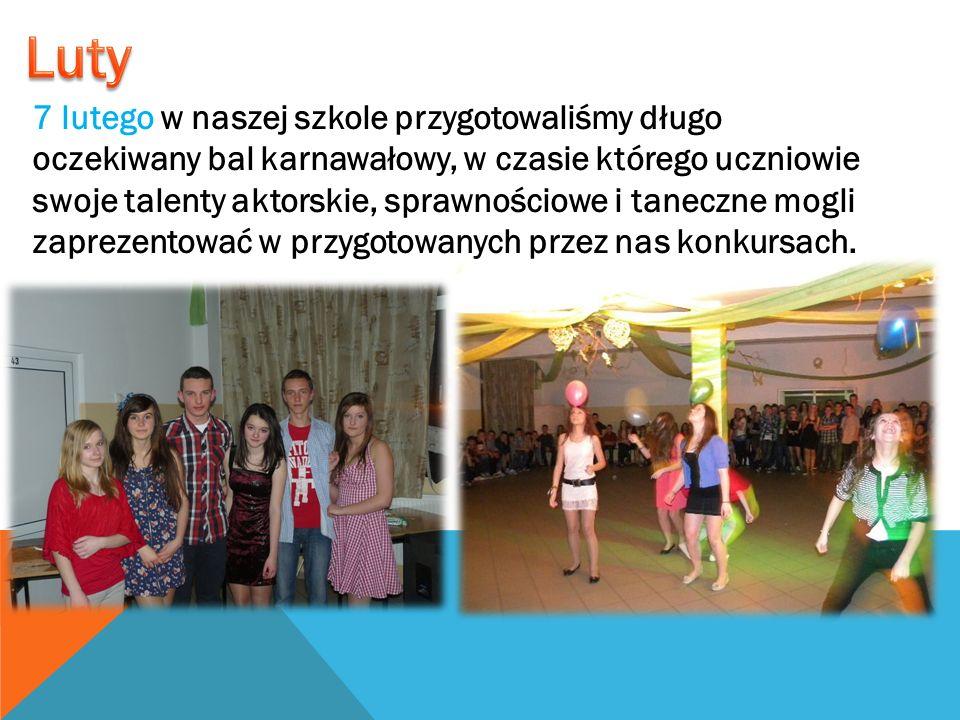 7 lutego w naszej szkole przygotowaliśmy długo oczekiwany bal karnawałowy, w czasie którego uczniowie swoje talenty aktorskie, sprawnościowe i taneczn