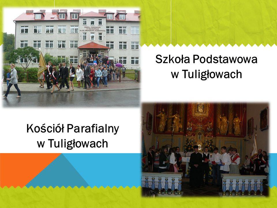 Szkoła Podstawowa w Tuligłowach Kościół Parafialny w Tuligłowach