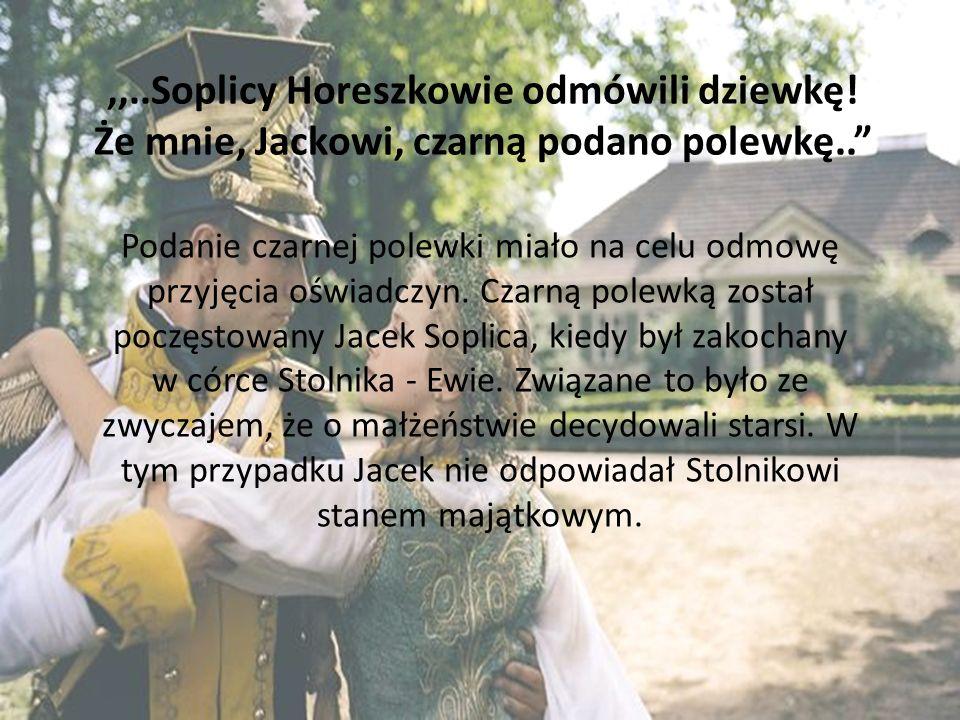 Zażywanie tabaki Tabaka odgrywała ważną rolę w życiu Polaków.