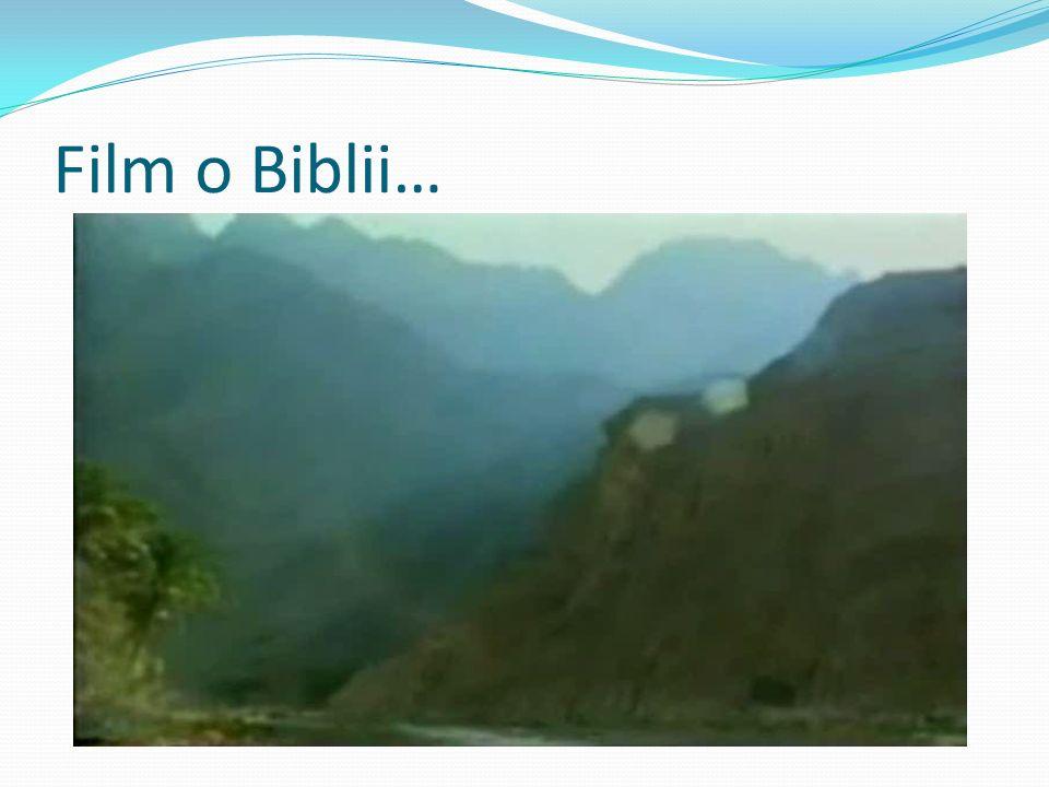 Film o Biblii…