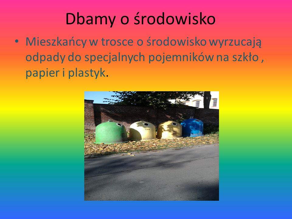 Przykłady miejsc w których obserwujemy korzystne lub niekorzystne zmiany w środowisku przyrodniczym W mojej miejscowości można zaobserwować korzystnei