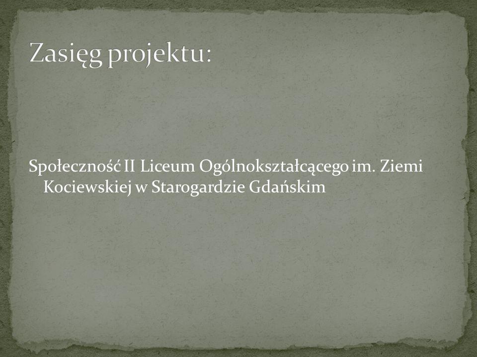 Społeczność II Liceum Ogólnokształcącego im. Ziemi Kociewskiej w Starogardzie Gdańskim