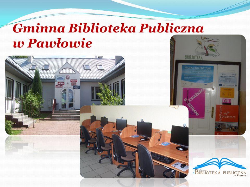Gminna Biblioteka Publiczna w Pawłowie