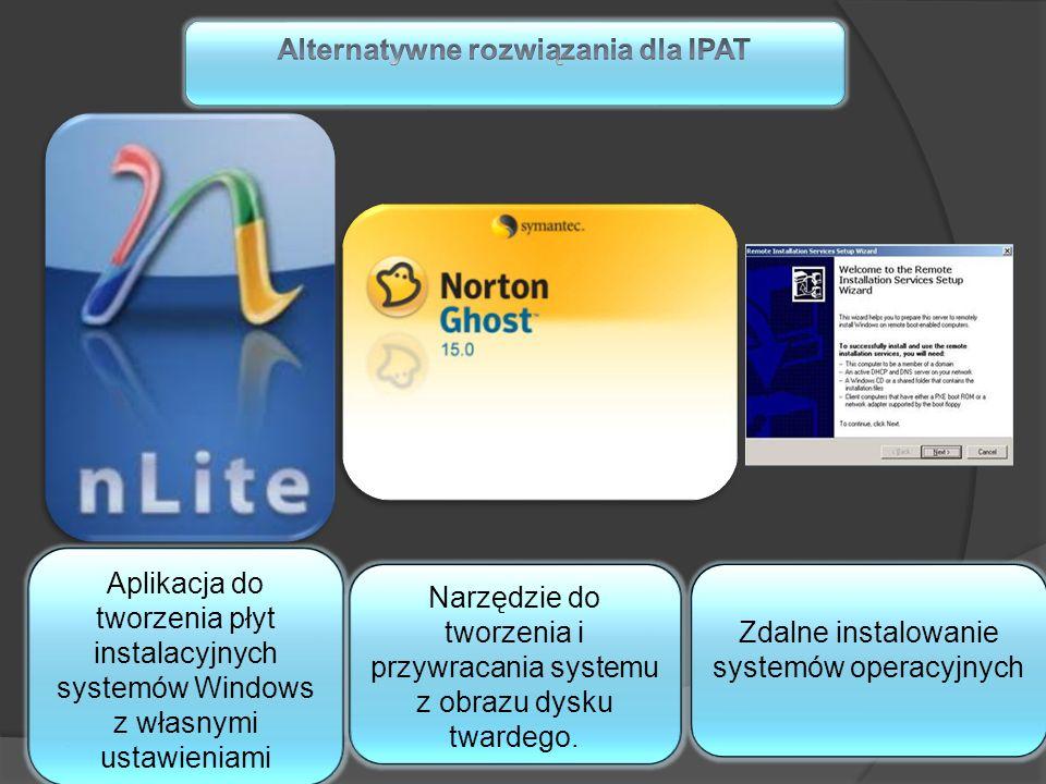 Aplikacja do tworzenia płyt instalacyjnych systemów Windows z własnymi ustawieniami Narzędzie do tworzenia i przywracania systemu z obrazu dysku tward