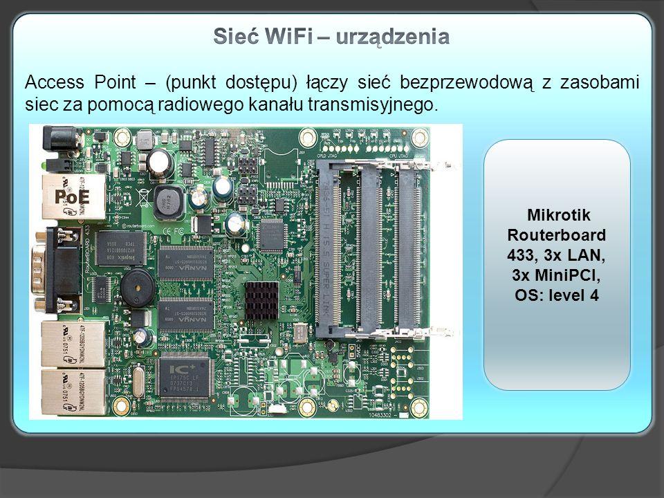 Rodzaje sieci bezprzewodowych. Ważne żeby router WiFi obsługiwał siec radiowe w standardach 802.11.a/g/n W zależności od wybranego standardu trzeba do