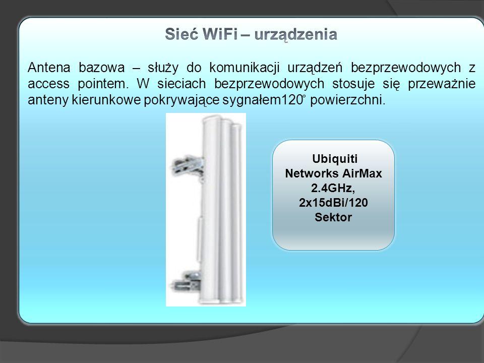 Ubiquiti Networks AirMax 2.4GHz, 2x15dBi/120 Sektor