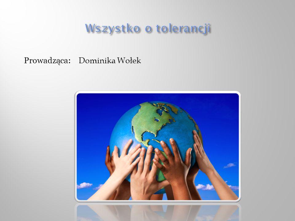 Prowadząca: Dominika Wołek