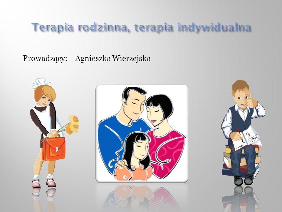 Prowadzący: Agnieszka Wierzejska