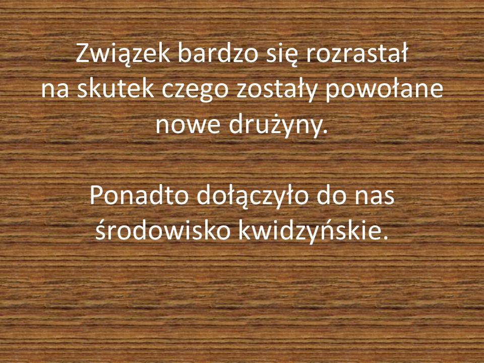 Ponownie został powołany Hufiec, a na jego czele stanęła Druhna Maria Szczepińska