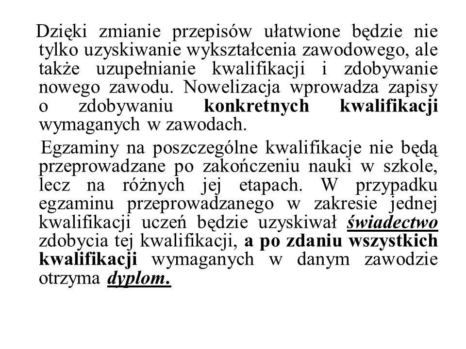 POLSKA RAMA KWALIFIKACJI czyli jednolity sposób opisywania kwalifikacji zdobytych na każdym etapie kształcenia formalnego, pozaformalnego oraz nieformalnego.