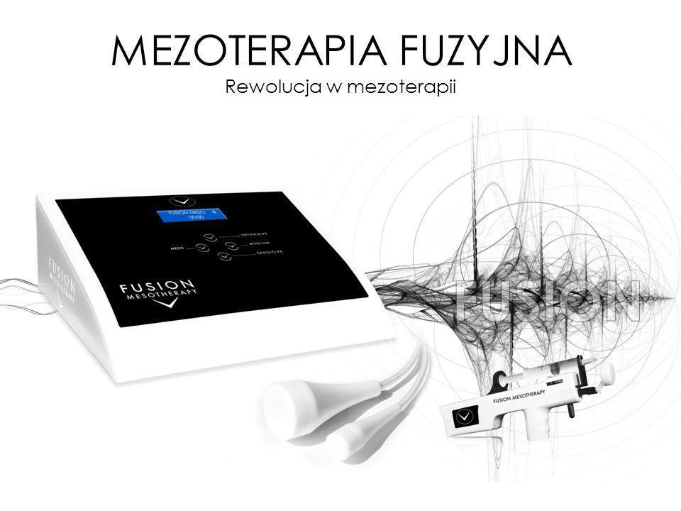 MEZOTERAPIA FUZYJNA Rewolucja w mezoterapii