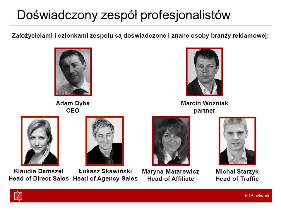 RTB network Powierzchnia reklamowa Współpracujemy z czołowymi wydawcami i największymi podmiotami na rynku reklamowym w Polsce, a także z szeregiem mniejszych podmiotów.