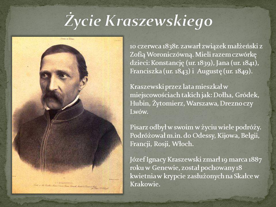 10 czerwca 1838r. zawarł związek małżeński z Zofią Woroniczówną. Mieli razem czwórkę dzieci: Konstancję (ur. 1839), Jana (ur. 1841), Franciszka (ur. 1
