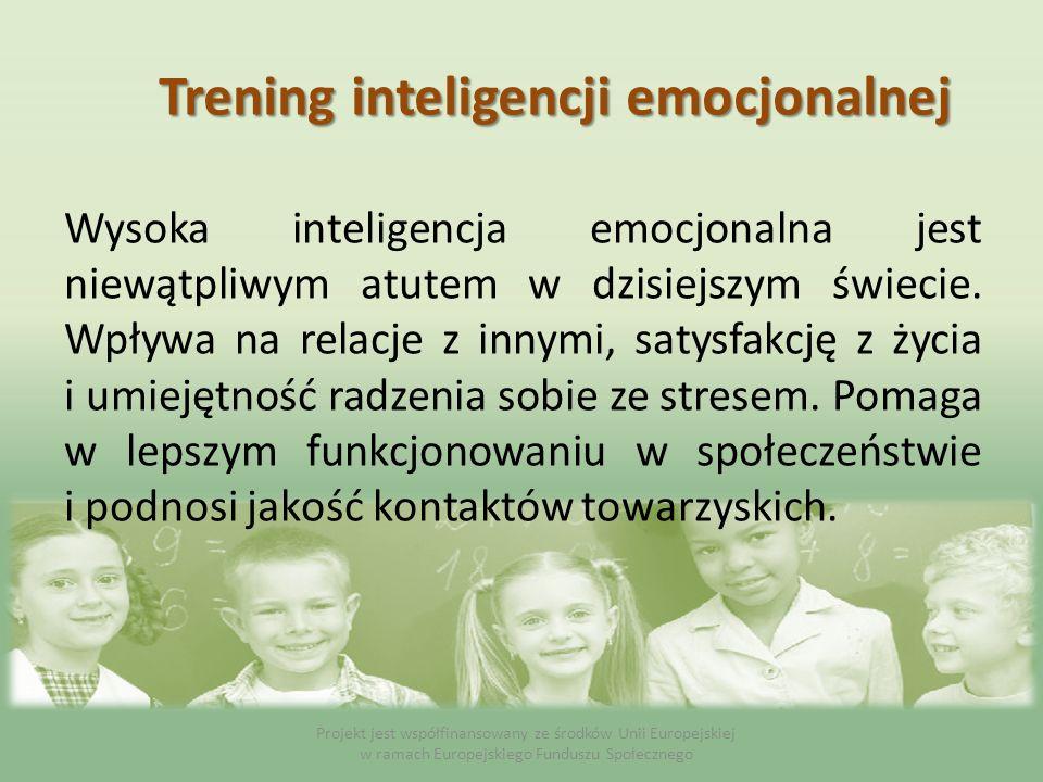 Wysoka inteligencja emocjonalna jest niewątpliwym atutem w dzisiejszym świecie. Wpływa na relacje z innymi, satysfakcję z życia i umiejętność radzenia