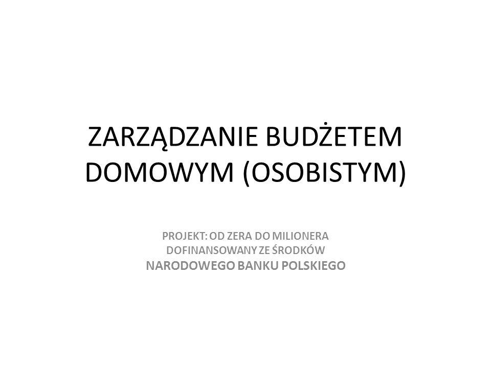 Z raportu Postawy Polaków wobec oszczędzania przygotowanego przez Fundację Kronenberga przy banku City Handlowy wynika, że Polacy oszczędzają na: 1.Nieprzewidziane wydatki - 3 % 2.Prezenty - 7 % 3.Zakup mieszkania/domu - 7 % 4.Kupno samochodu - 11 % 5.Zakup sprzętu do domu/mieszkania - 19 % 6.Zabezpieczenie przyszłości - 27 % 7.Wakacje - 28 % 8.Drobne przyjemności - 30 % 9.Brak konkretnego celu - 26 %