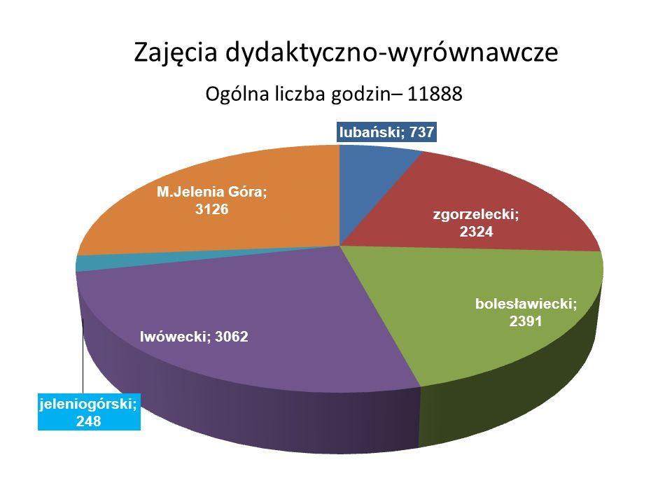 Zajęcia dydaktyczno-wyrównawcze Ogólna liczba godzin– 11888