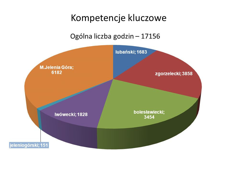 Kompetencje kluczowe Ogólna liczba godzin – 17156