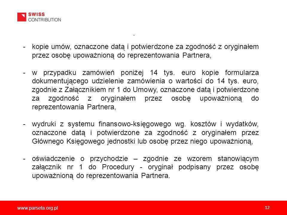 www.parseta.org.pl 12.