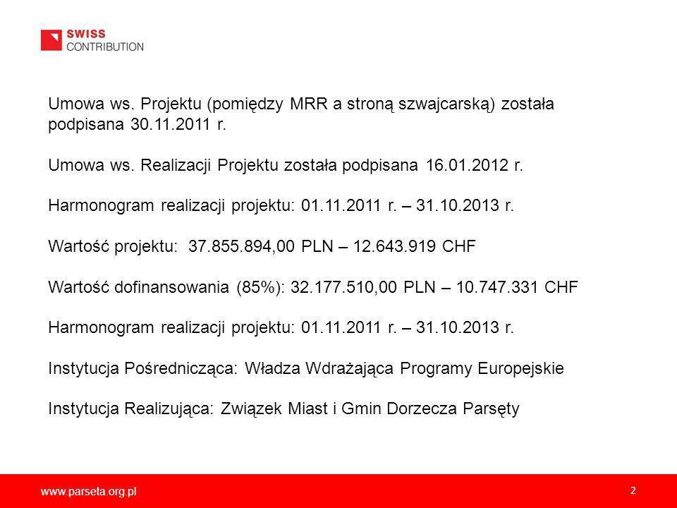 www.parseta.org.pl 2 Umowa ws.
