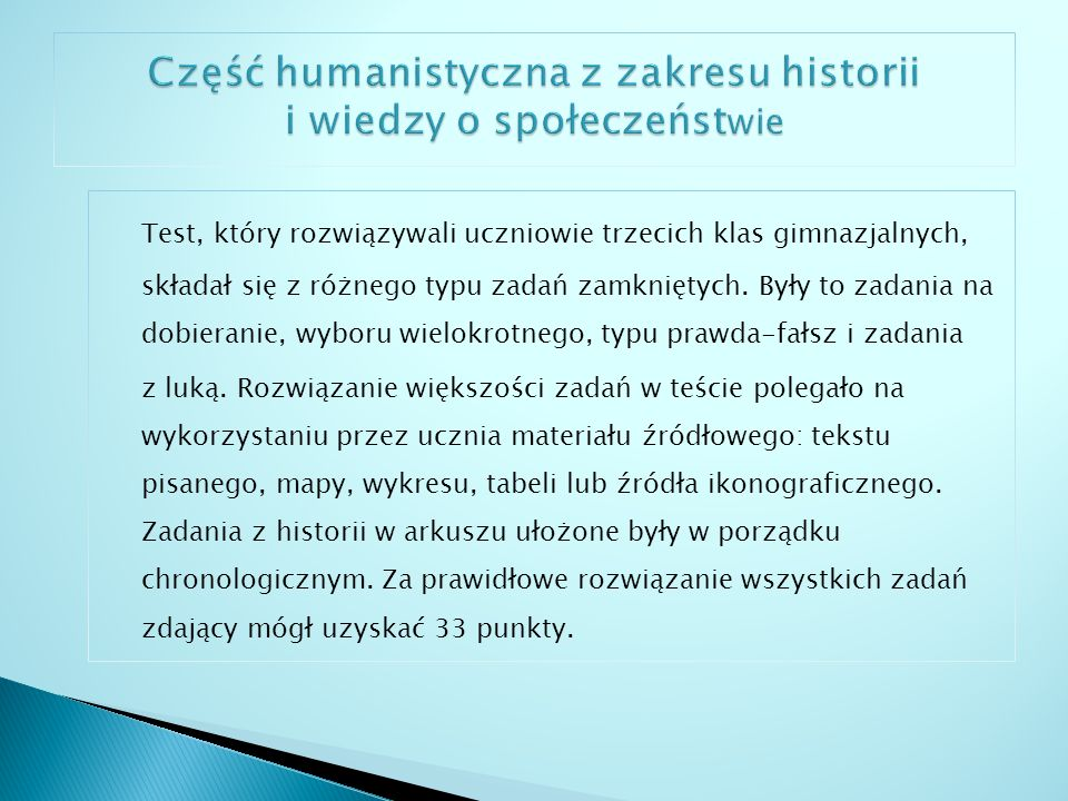 Kraj – 58% Województwo podlaskie – 57,7% Miasto Suwałki – 56,8% Gimnazjum nr 5 z Oddziałami Integracyjnymi im.