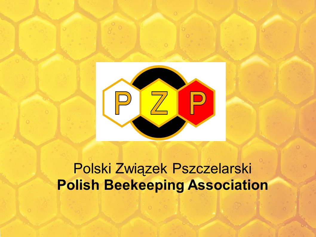 Polish Beekeeping Association (PZP) Beekeeping distinctions Golden Badge of Association – a golden badge including three joined honeycomb cells, white, yellow and red, with the abbreviation PZP inserted into individual cells; cells are joined by a black surround with a rim containing a golden laurel wreath Silver Badge of Association – a silver badge including three joined honeycomb cells, white, yellow and red, with the abbreviation PZP inserted into individual cells; cells are joined by a black surround with a rim containing a silver laurel wreath Bronze Badge of Association – a bronze badge including three joined honeycomb cells, white, yellow and red, with the abbreviation PZP inserted into individual cells; cells are joined by a black surround with a rim containing a bronze laurel wreath In addition, the Association awards diplomas for special services to the development of Polish beekeeping, made of handmade paper with a spectacular drawing of bees, hives and rev.