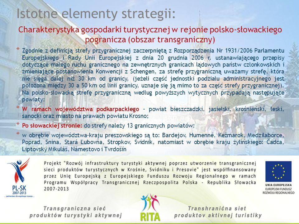 Głównym celem projektu jest rozwój turystyki na obszarze polsko- słowackiego pogranicza. Wzrost zainteresowania turystyką aktywną, oraz turystycznymi