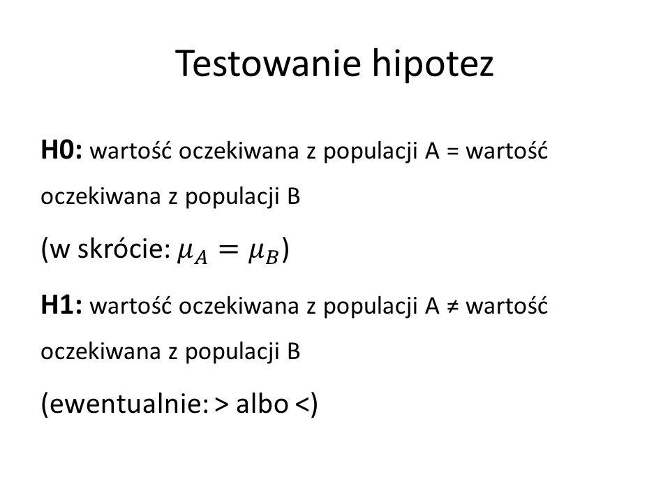 Wartość krytyczna, błąd I i II rodzaju SĘDZIA Anna Maria Wesołowska Jak ustalić granicę skazania.