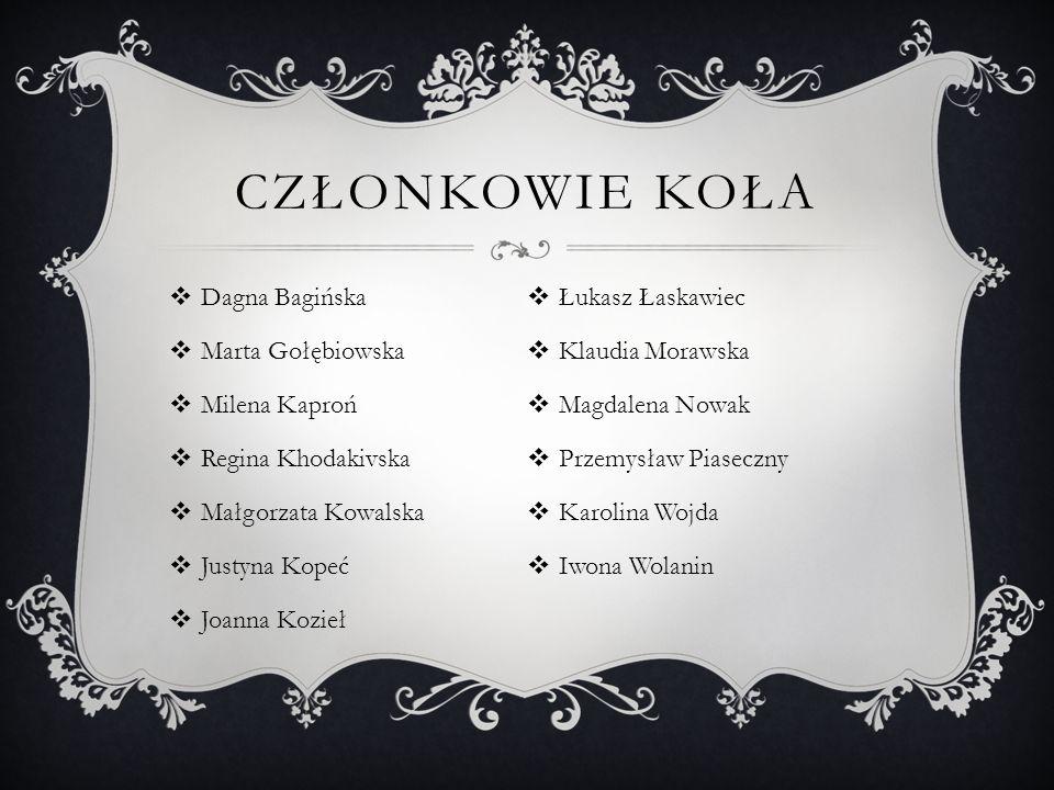 Ogólnopolska Konferencja M ł odych Naukowców REFERATY 1.