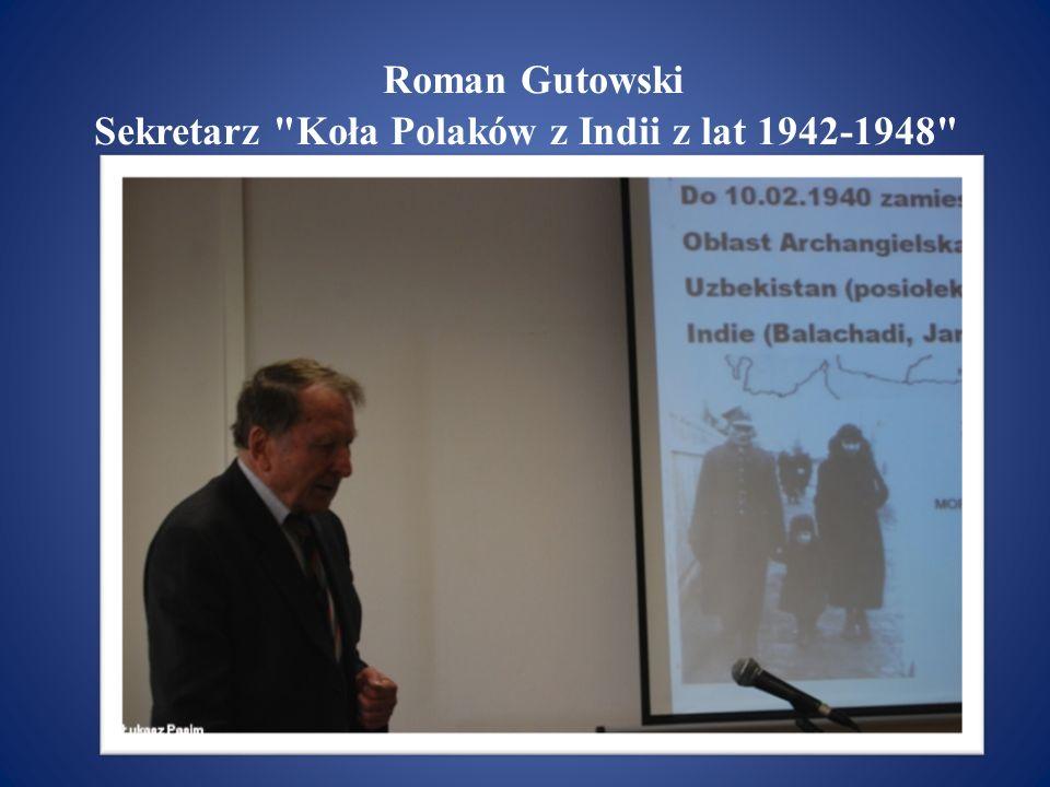 Roman Gutowski Sekretarz