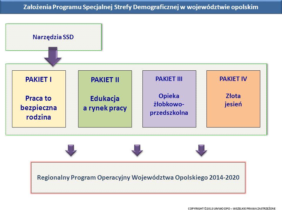 WSPARCIE RPO WO 2014-2020 SKIEROWANE NA PRZECIWDZIAŁANIE PROCESOM DEPOPULACJI WSPARCIE RPO WO 2014-2020 SKIEROWANE NA PRZECIWDZIAŁANIE PROCESOM DEPOPULACJI COPYRIGHT ©2013 UMWO DPO – WSZELKIE PRAWA ZASTRZEŻONE