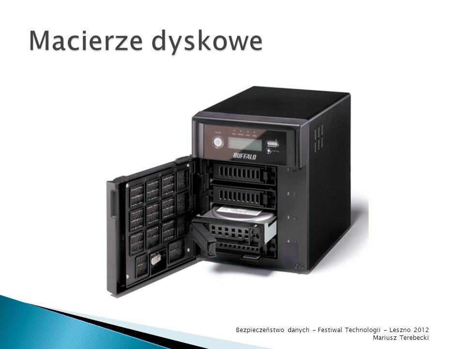 powrót Bezpieczeństwo danych - Festiwal Technologii - Leszno 2012 Mariusz Terebecki