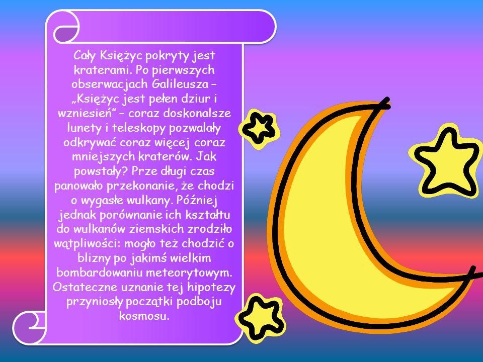 Księżyc nie ma atmosfery, dlatego tamtejsze niebo jest zawsze, nawet w dzień, czarne, a nie błękitne.