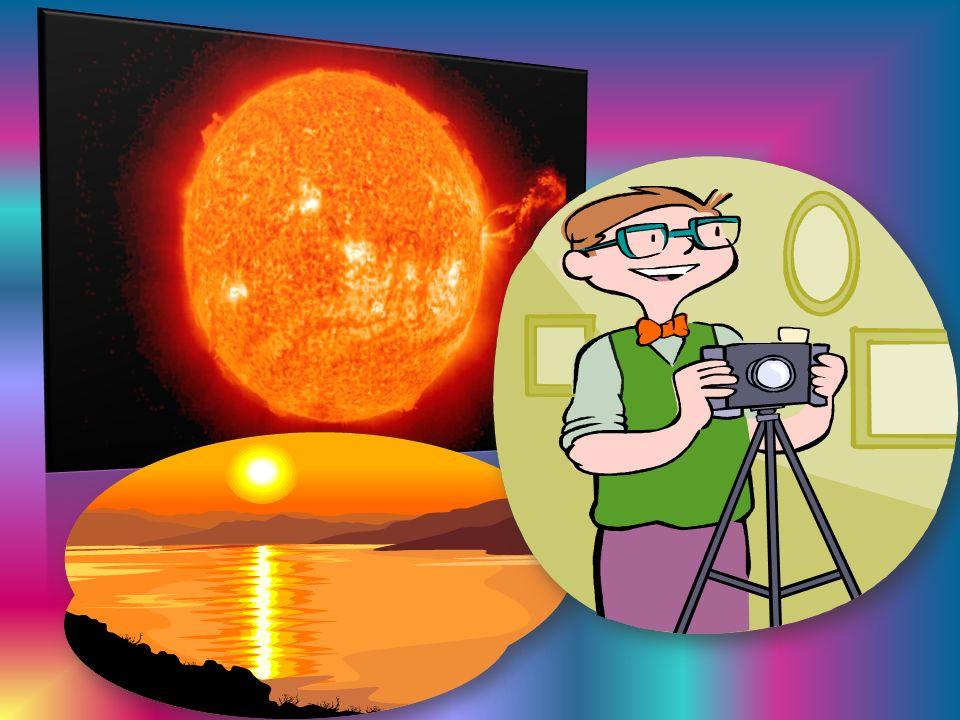 Słońce jest kulą gazową (złożoną głównie z wodoru), do której wnętrza nie możemy zajrzeć.