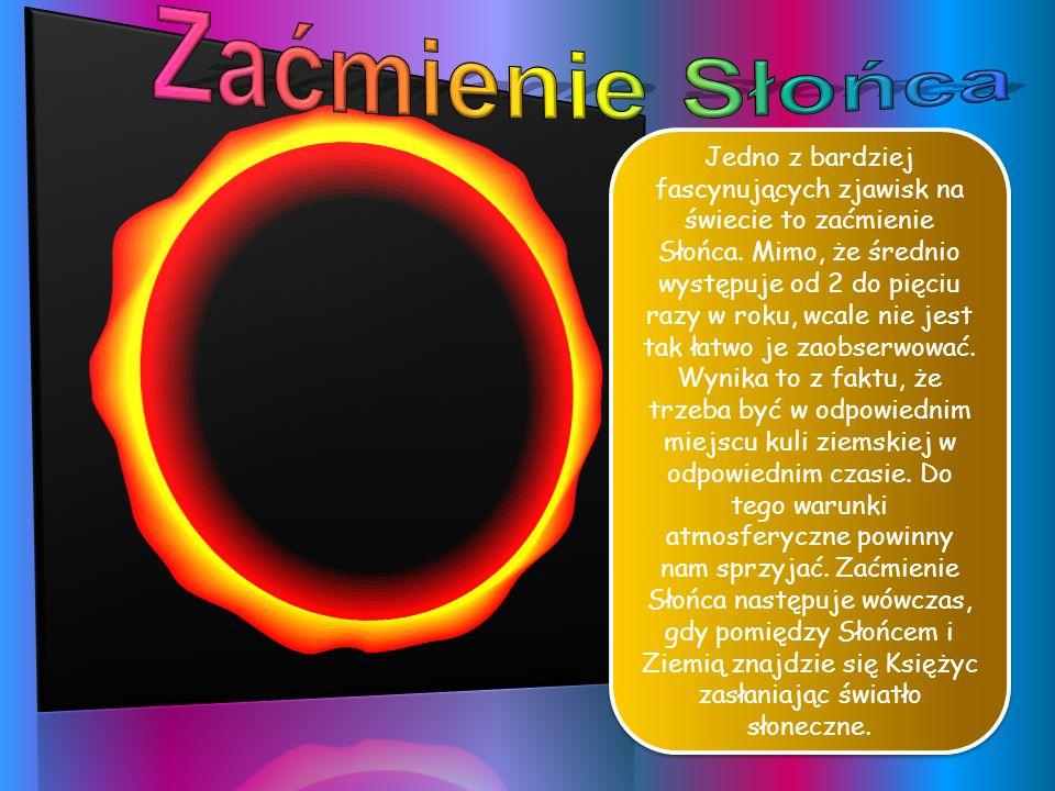 Z Ziemi widzimy zewnętrzną warstwę Słońca, o grubości 400 km, zwaną fotosferą. Temperatura jej powierzchni wynosi 4200°C i jest źródłem prawie całego