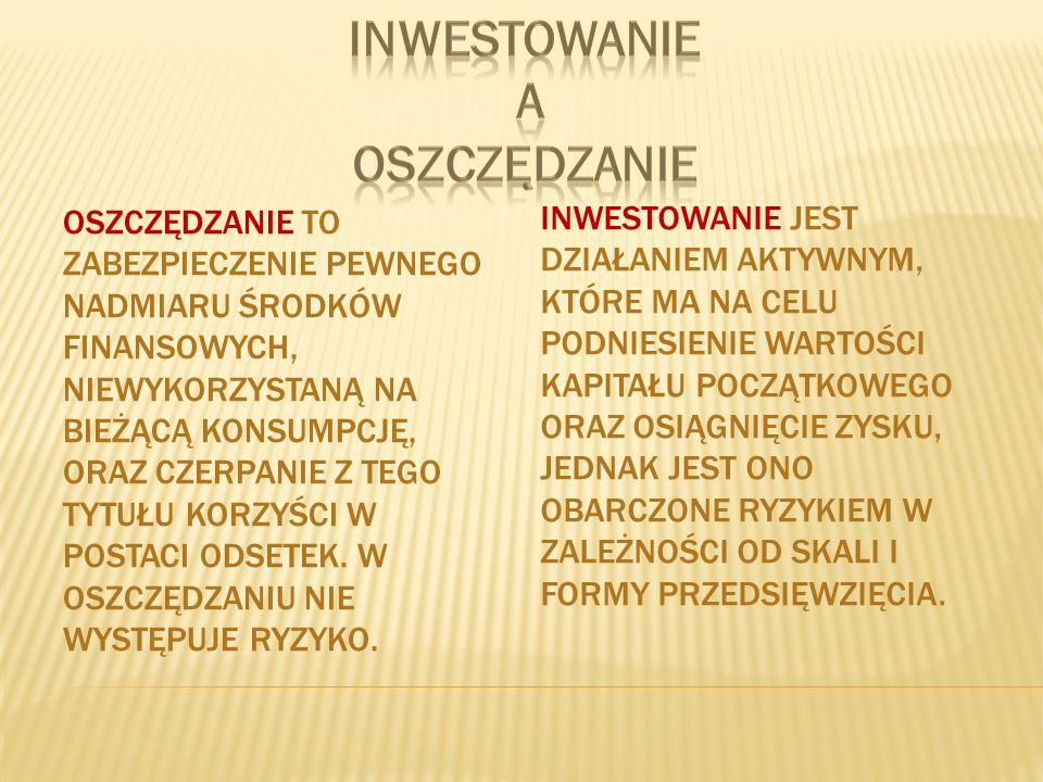 Aby rozpocząć inwestowanie na giełdzie papierów wartościowych należy posiadać rachunek inwestycyjny w biurze maklerskim.
