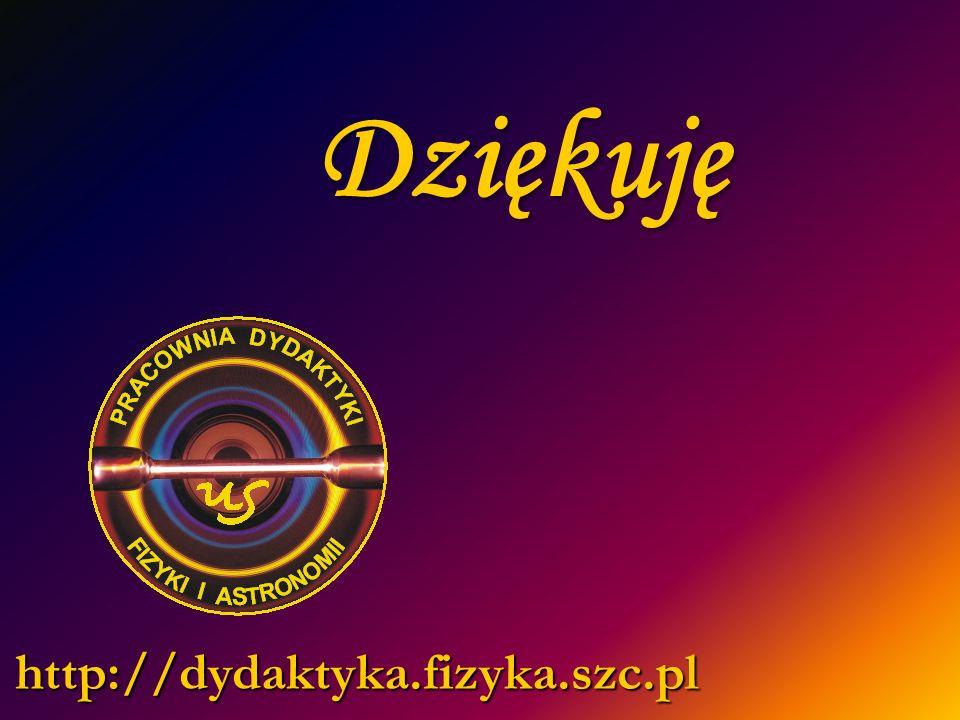 Dziękuję http://dydaktyka.fizyka.szc.pl