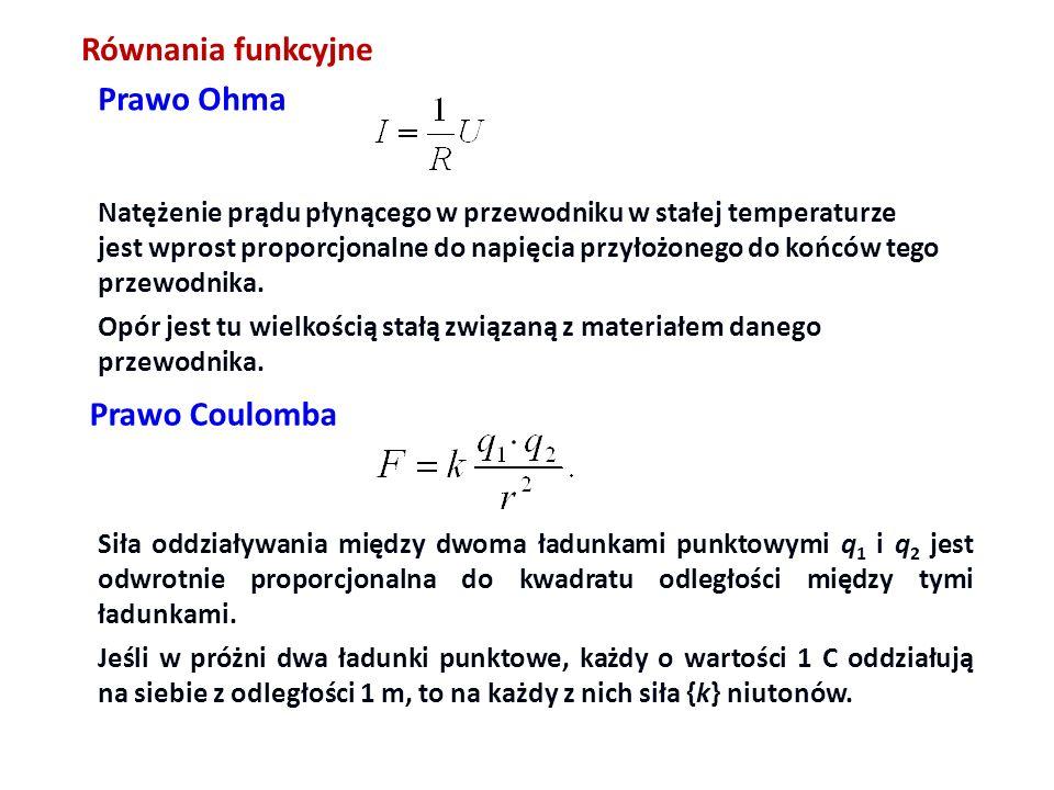 II zasada dynamiki Newtona: warunki ….