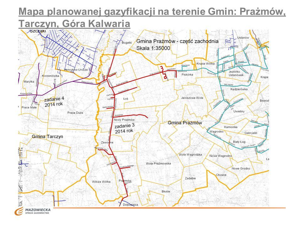 Etapowanie gazyfikacji 1.Obecnie (na przełomie roku 2011 i 2012) jest budowanych około 4,5km gazociągów w północno - zachodniej części miejscowości Ustanów w celu przyłączenia do sieci gazowej 100 odbiorców - osób które zawarły umowy o przyłączenie do sieci gazowej.