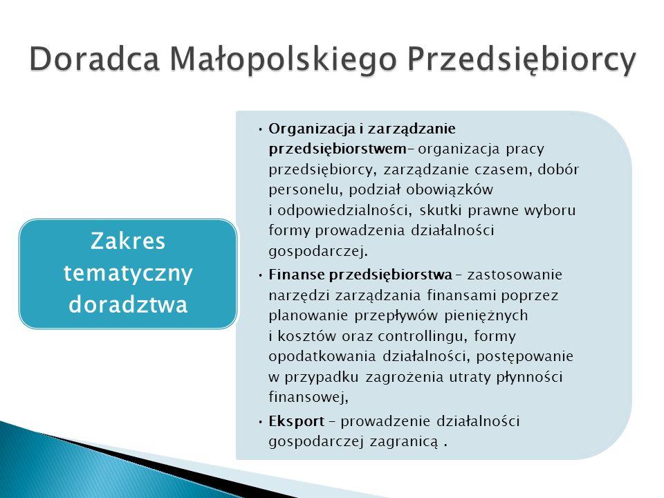 Organizacja i zarządzanie przedsiębiorstwem- organizacja pracy przedsiębiorcy, zarządzanie czasem, dobór personelu, podział obowiązków i odpowiedzialności, skutki prawne wyboru formy prowadzenia działalności gospodarczej.