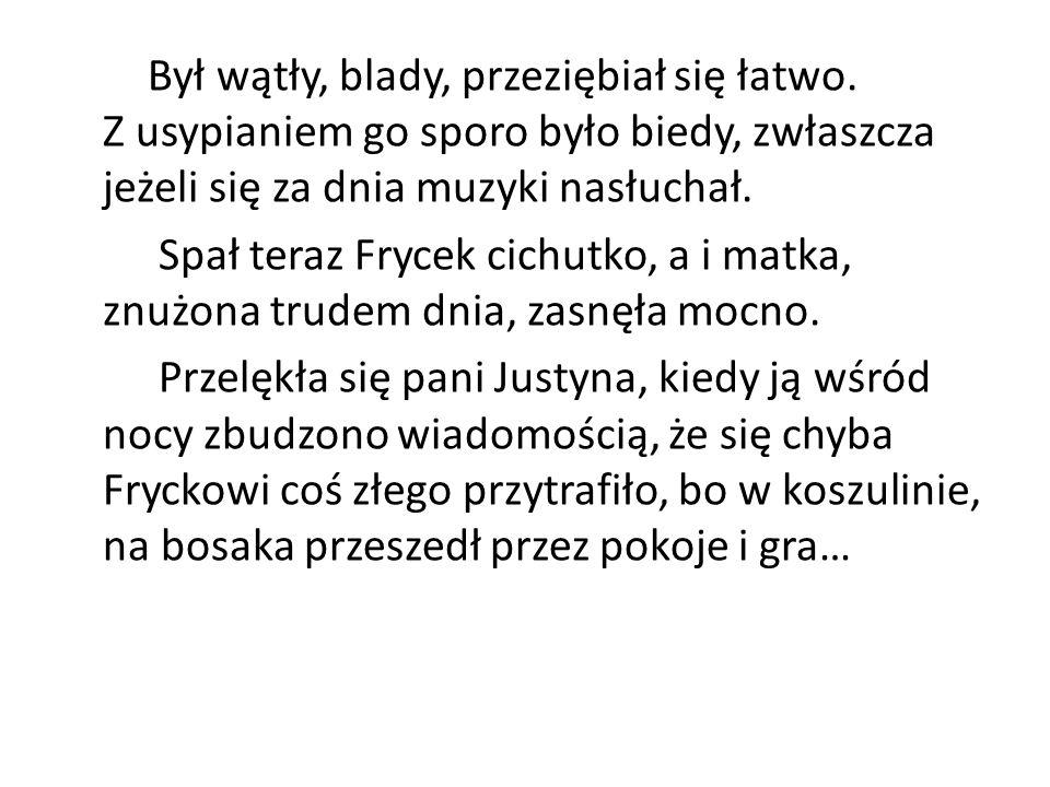 W latach 1823-26 Fryderyk pobierał naukę w Liceum Warszawskim, gdzie jego ojciec był profesorem.